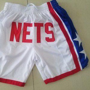 New NBA Just Don Brooklyn Nets Basketball Shorts